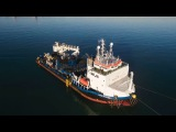 Rampion offshore wind farm export cable installation