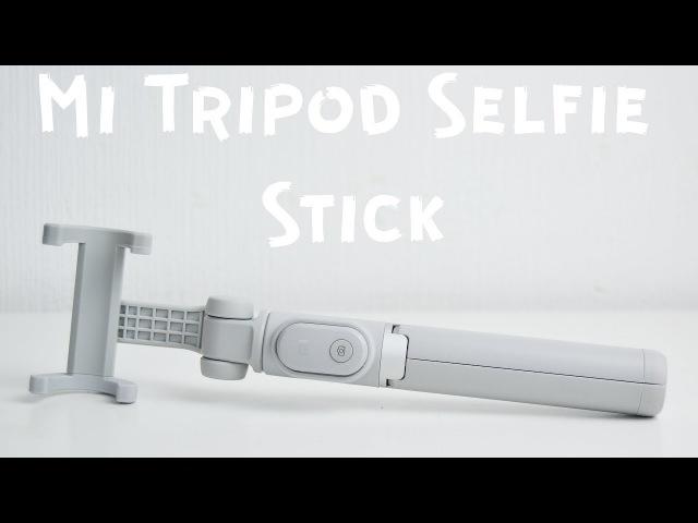 Лучший монопод, штатив, трипод - Xiaomi Mi Selfie Stick Tripod Распаковка Обзор