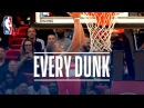 Kristaps Porzingis, LeBron James, Ben Simmons and Every Dunk From Wednesday Night | Nov. 15, 2017