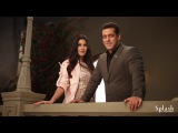 Behind-the-scenes with Salman Khan &amp Katrina Kaif on sets for our AW17 campaign.