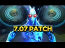 Dota 2 - 7.07 Dueling Fates Patch - Ancient Apparition Remodel Ping Wheel