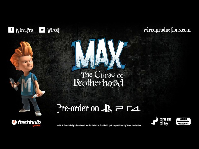 Max: The Curse of Brotherhood PS4 Trailer