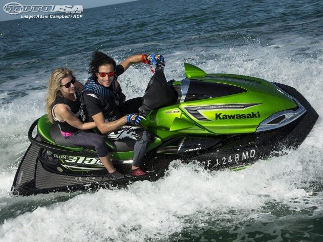 Kawasaki Jet Ski Ultra 310LX 310R First Ride - MotoUSA