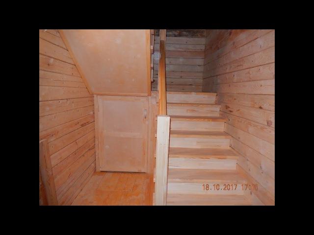 Лестница 2450х2060х2790(д.ш.в.)изготовление . День 1.