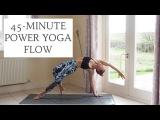 YOGANUARY #4 45-Minute Power Yoga Flow CAT MEFFAN