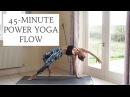 YOGANUARY 4 | 45-Minute Power Yoga Flow | CAT MEFFAN