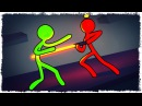 ДЖЕДАЙ НЕУДАЧНИК vs ЗМЕИ В STICK FIGHT THE GAME