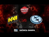 Natus Vincere vs Evil Geniuses, ROG DreamLeague, game 1 [Godhunt, Dead_Angel]