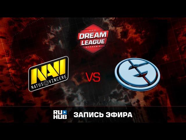 Natus Vincere vs Evil Geniuses - Game 1, Loser Bracket - DreamLeague Season 8 2017