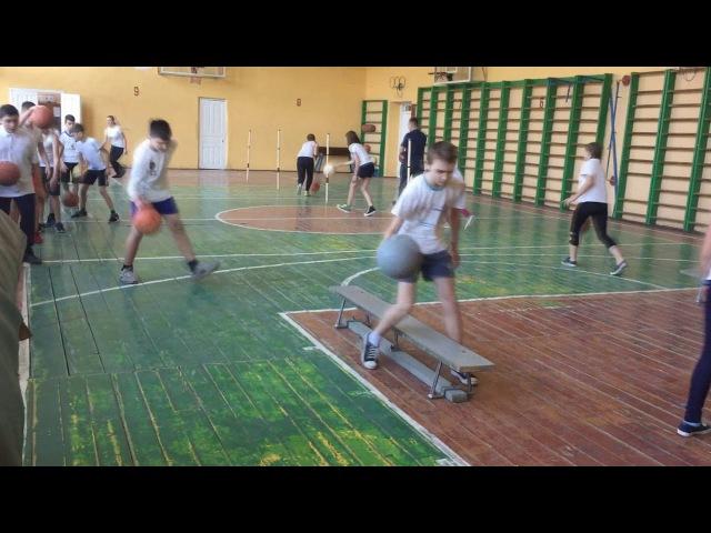 Відкритий урок з фізичної культури. Тема Баскетбол