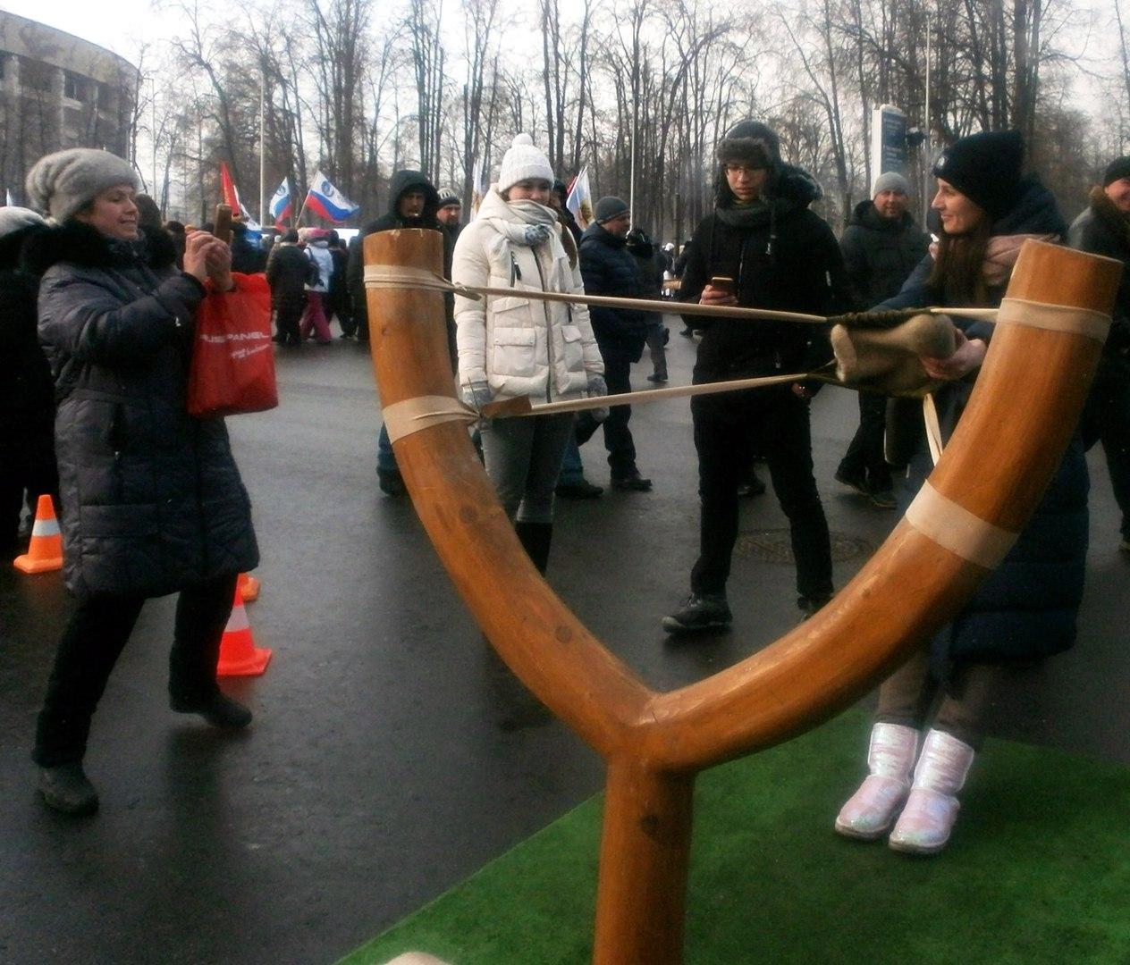 """коллектив клуба """"Сфера"""" в """"Лужниках"""" 03.03.2018"""