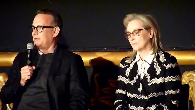 Meryl Streep and Tom Hanks on the love between Ben Bradlee and Kay Gram