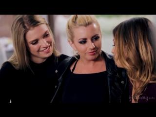 Lexi Belle, Kristen Scott & Giselle Palmer [HD 1080, Lesbian, Threesome, Big Tits, Small Tits, Blonde, Brunette, Hairy]