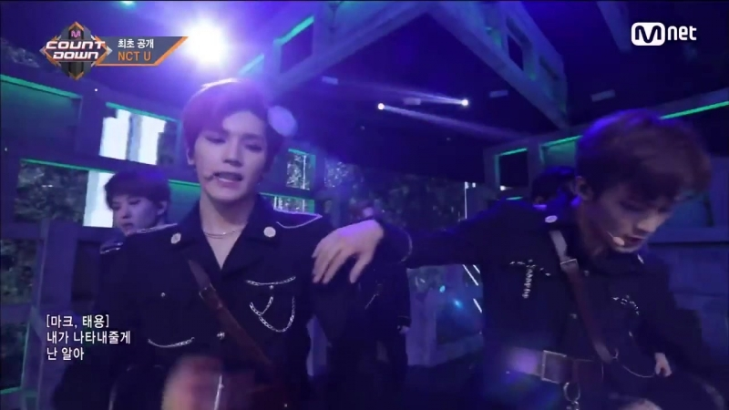 [NCT U - BOSS] Comeback Stage _ M COUNTDOWN 180222 EP.559 (MarkYong) (1)