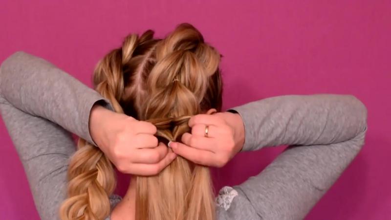 Французские косы_French braids_своими руками