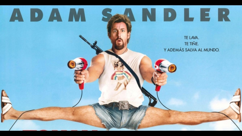 -Zohan Licencia Para Peinar (You Dont Mess With the Zohan -Не связывайтесь с Зоханом), 2008 -USA @EspLatMex 116´