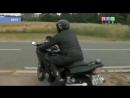 мотоциклист разбился в прямом эфире