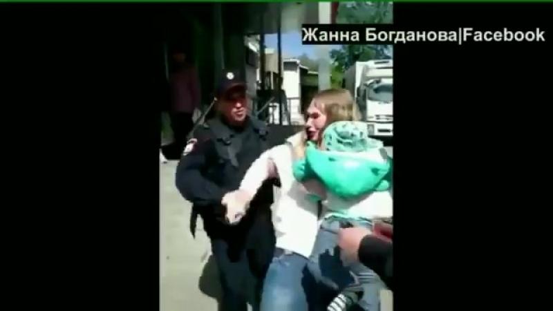 Полиция скрутила мать с грудничком на руках, за продажу укропа в Екатеринбурге
