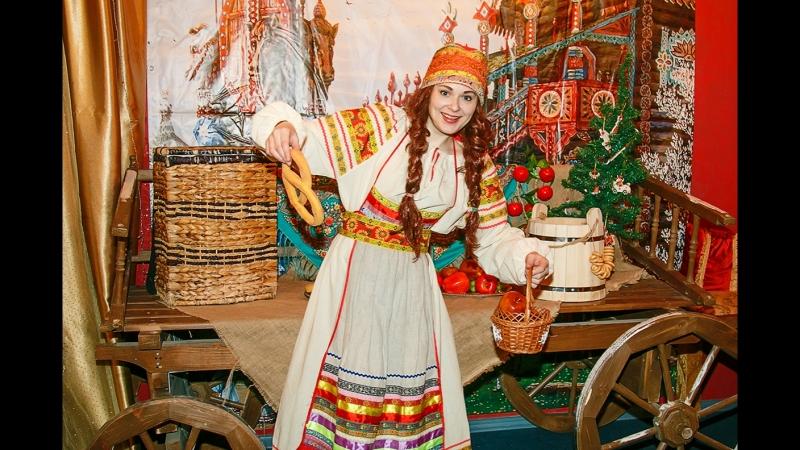 Веселая ярмарка - танец Скомороха и Матрешки!
