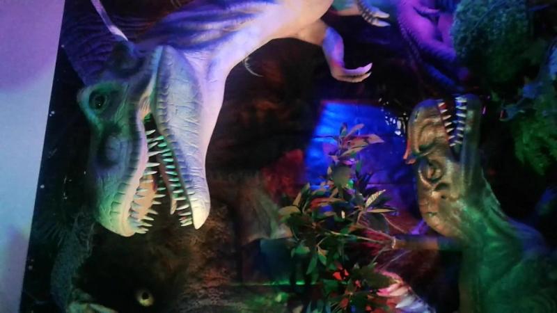 Выставка Мир динозавров