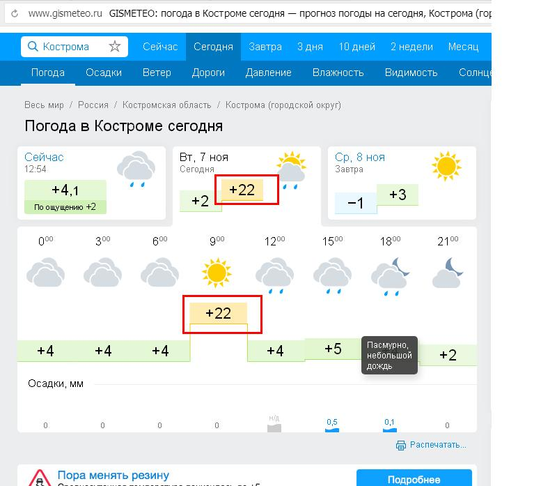 погода на завтра во всеволжске