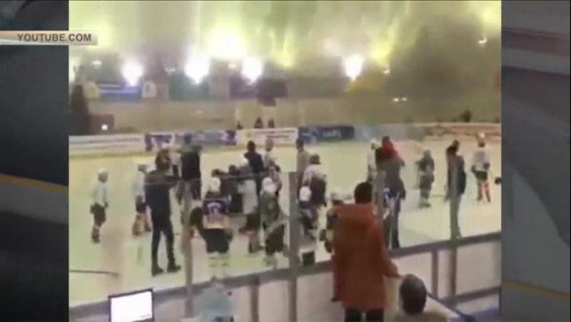 Детский матч по хоккею во Владикавказе перерос в «ледовое побоище/гнездо пересмешника