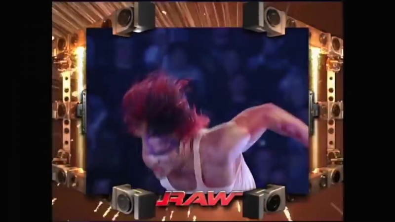 WWE RAW 2003: Shawn Michaels Jeff Hardy vs. Chris Jericho Christian