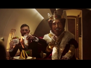Conor McGregor Hilarious Burger King Commercial