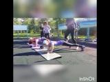 интервальная тренировка: бег + планка