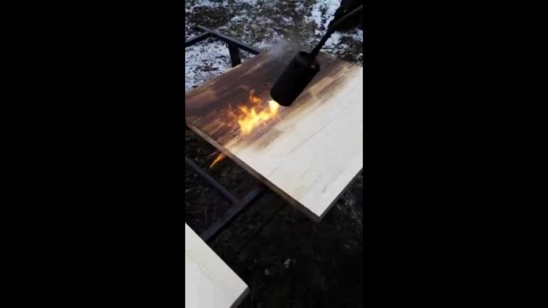 Обработка огнем как отдельный вид внешней отделки