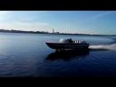 СПК Волга (проект 343). Первый спуск на воду после ремонта двигателя.