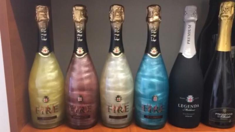 Шампанское ЖИВОЕ🍾,FIRE. 9$