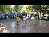 Макар выступает в парке Гагарина))) День молодёжи 25.06.2017. DNC