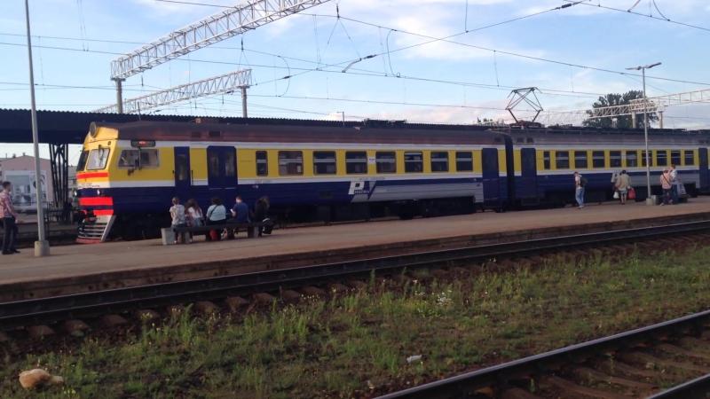 ER2T-2206 | Прибытие на рижский вокзал | 25/07/17