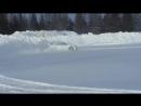 Subaru WRX STI blobeye snow drift
