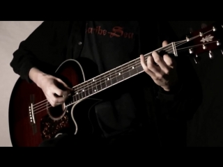 Кино Спокойная ночь│Fingerstyle guitar SOLO cover табы mp4