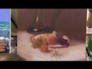 Игорь Сахаров, научиться рисовать натюрморт маслом, фрукты маслом