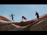 Cliff Slip and Slide! 50 Feet! In 4K!.mp4