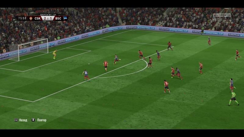 Лига Европы 1 4 ЦСКА Герта Берлин 4 2