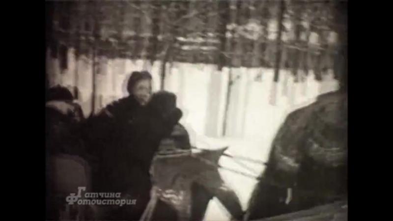 Народные зимние гуляния в Гатчинском парке. Из архива Виктора Макаля. 1968-69 гг.