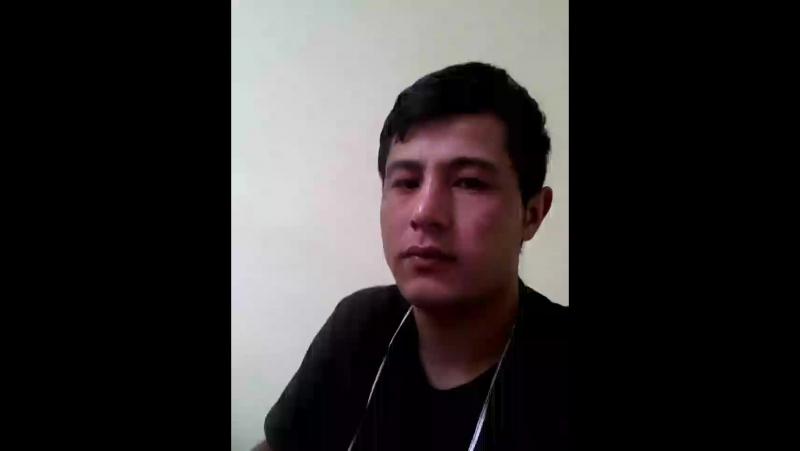 Улжабоев Шамсиддин - Live