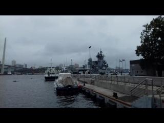 В Владивостоке полдень Пушка