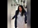 Лолита удивила поклонников энергичным танцем в аэропорту Нью-Йорка