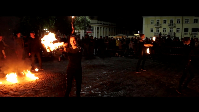 Огненно-пиротехническое шоу Reiton. Фаер шоу в Чернигове