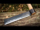 Blacksmithing - Forging a froe