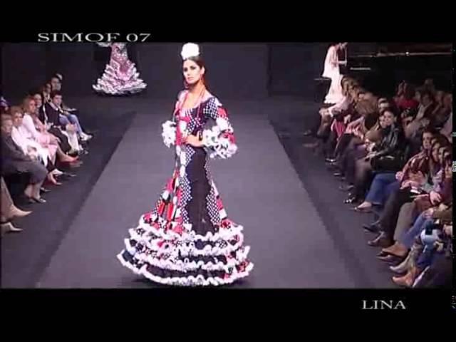 SIMOF 2007 Colección de trajes de flamenca de Lina MARINA
