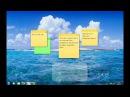 Sticky Notes demo video