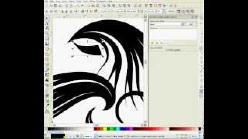 How To Learn Spiro and Pattern Along Path Using Inkscape