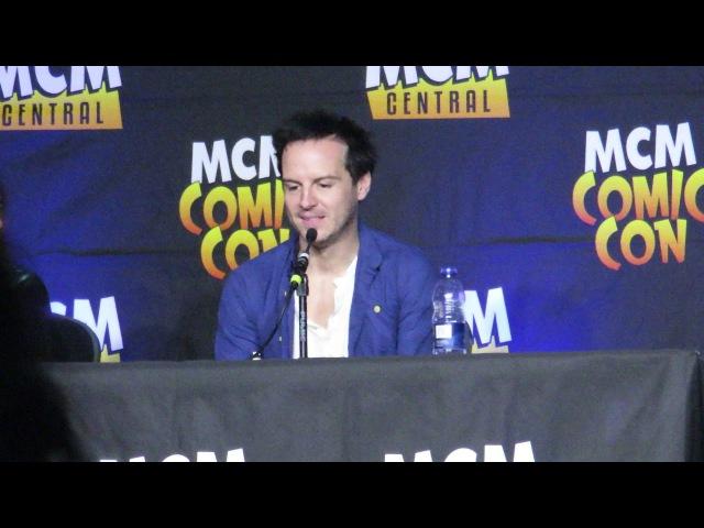 Andrew Scott Comic Con London 29 10 2017 part 1