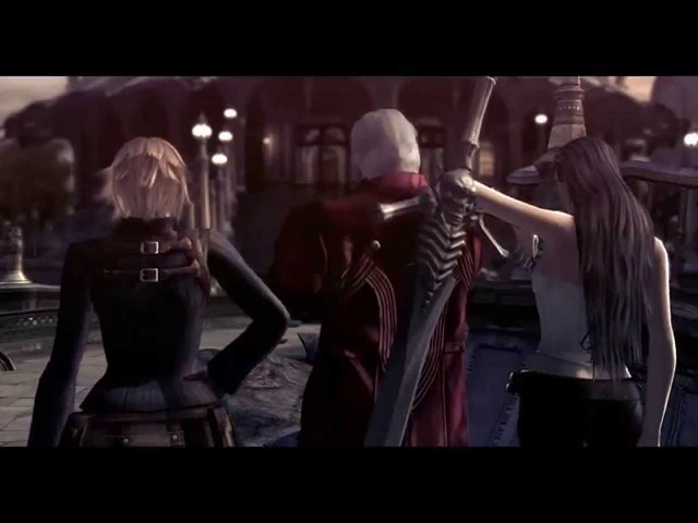 Devil May Cry 4 Special Edition: Lady and Trish All Cutscenes, EX Costumes